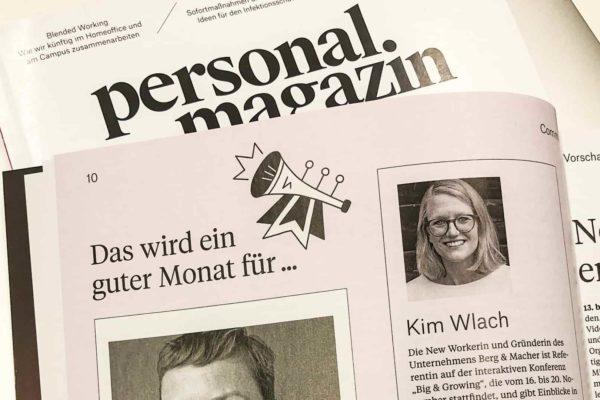Personalmagazin Kim Wlach Unternehmenskultur