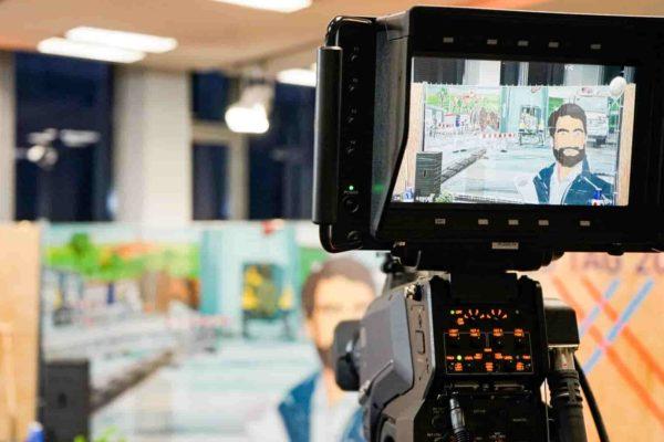 Unternehmenskultur Team Tag Kamera