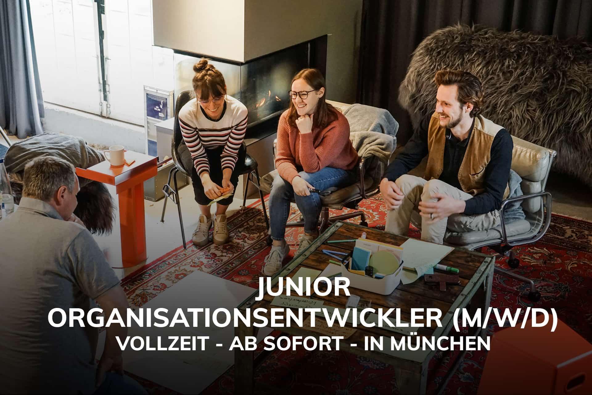 Berg & Macher Jobs Junior Organisationsentwickler