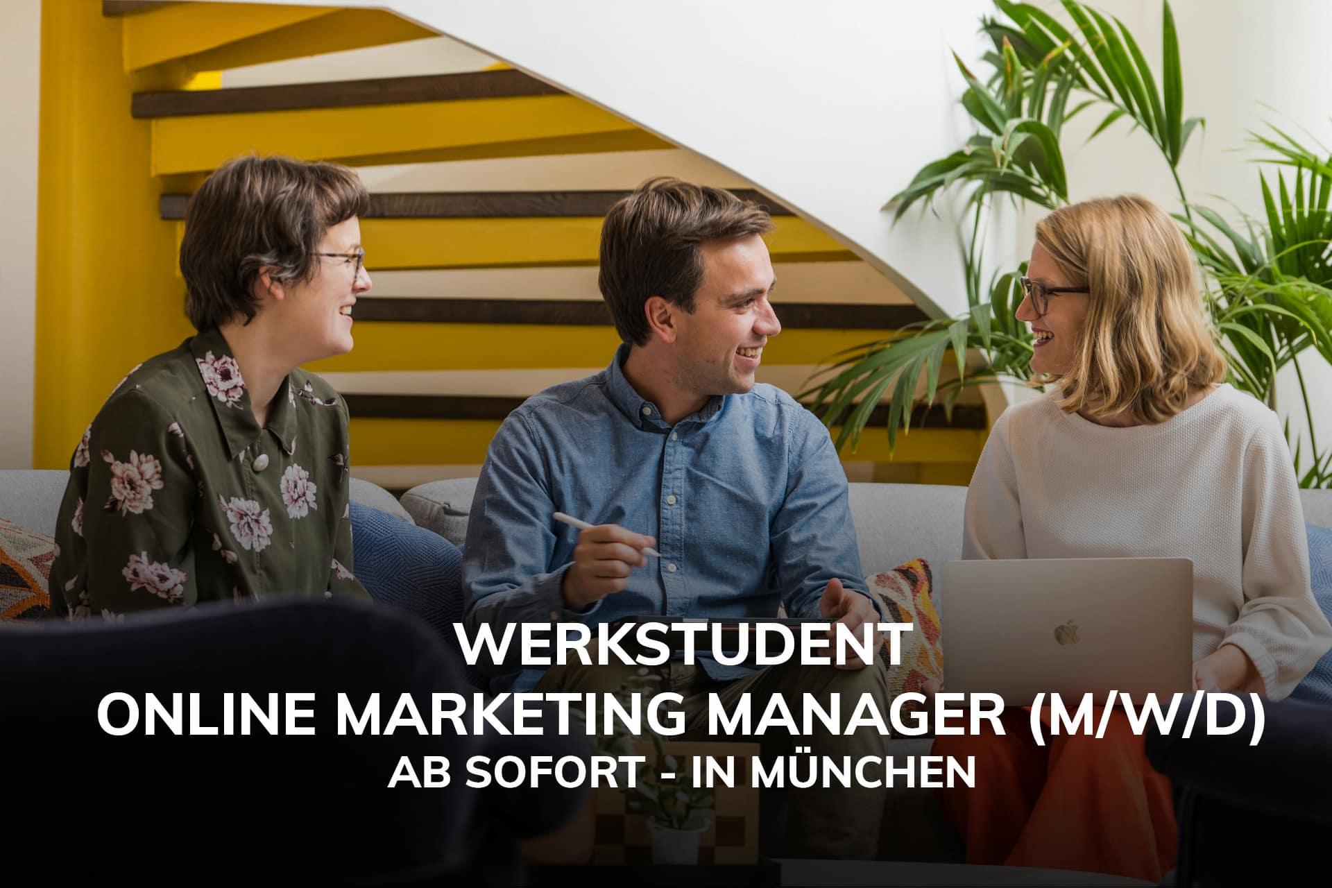 Online Marketing Manager Jobs München