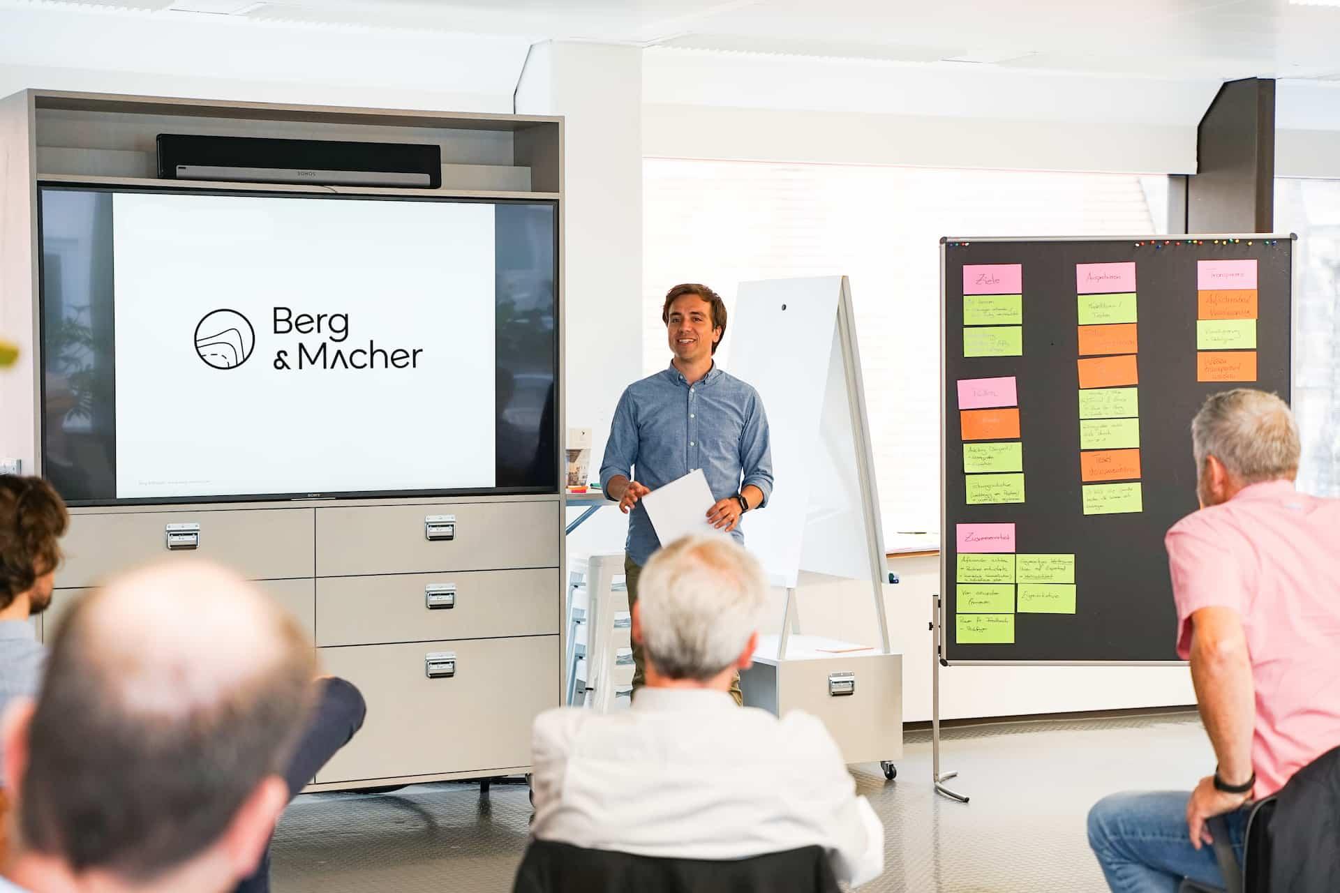 Berg & Macher Organisationsberatung Offsite
