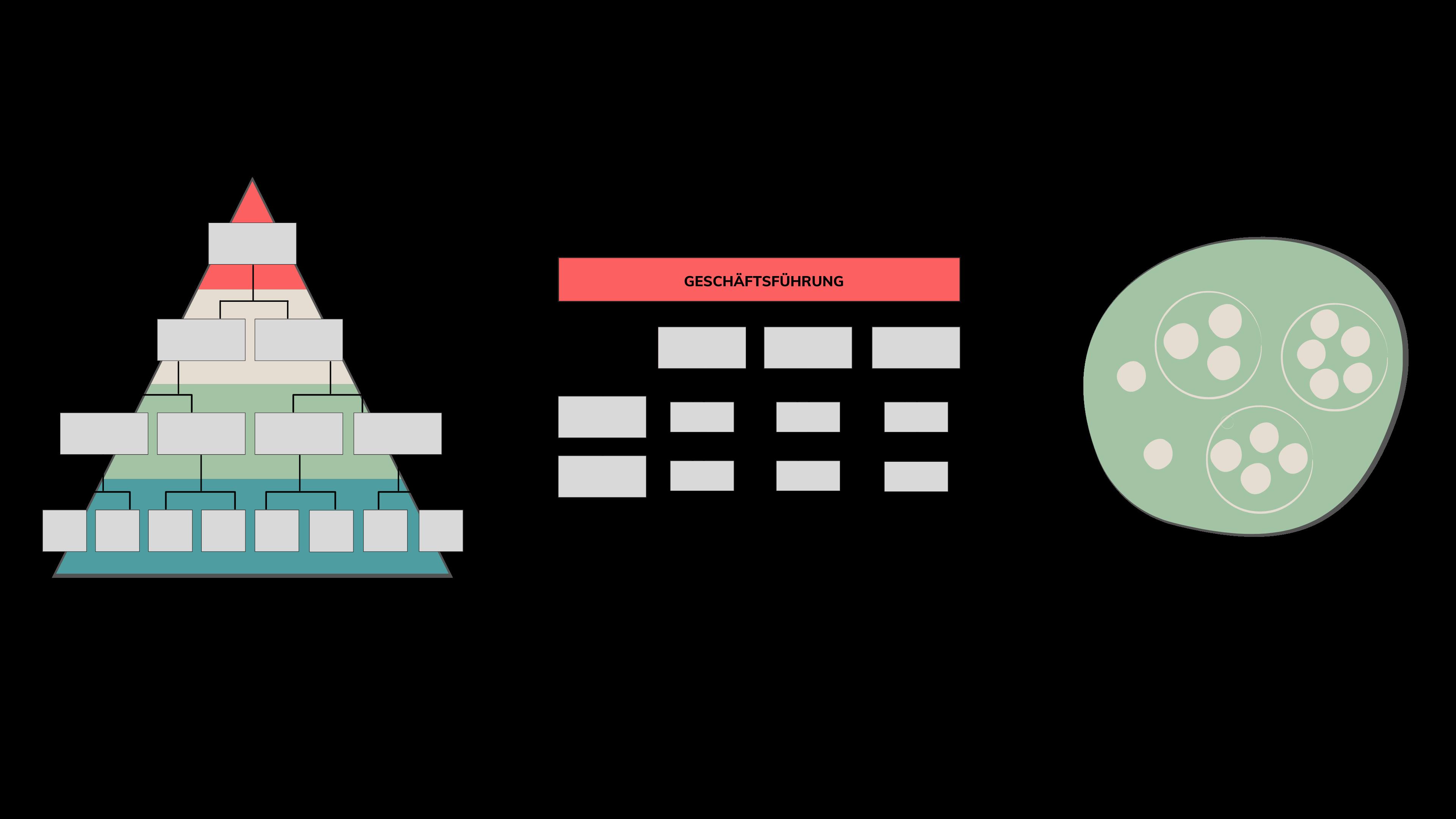 Organisationsformen Aufbauorganisation Matrix Netzwerk